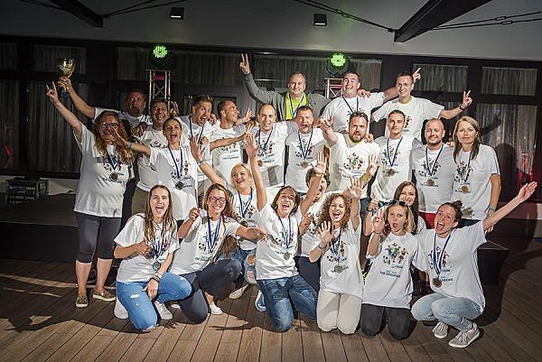 Fotili sme Slovenské firemné hry Leto 2017 - x-bionic, šport, sfh, šamorín, elcop - eventovy fotograf