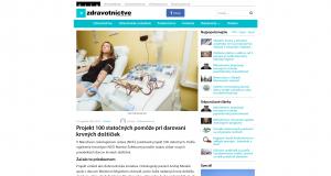 Fotenie pre projekt 100 statočných - nemocnica, medicína - eventovy fotograf