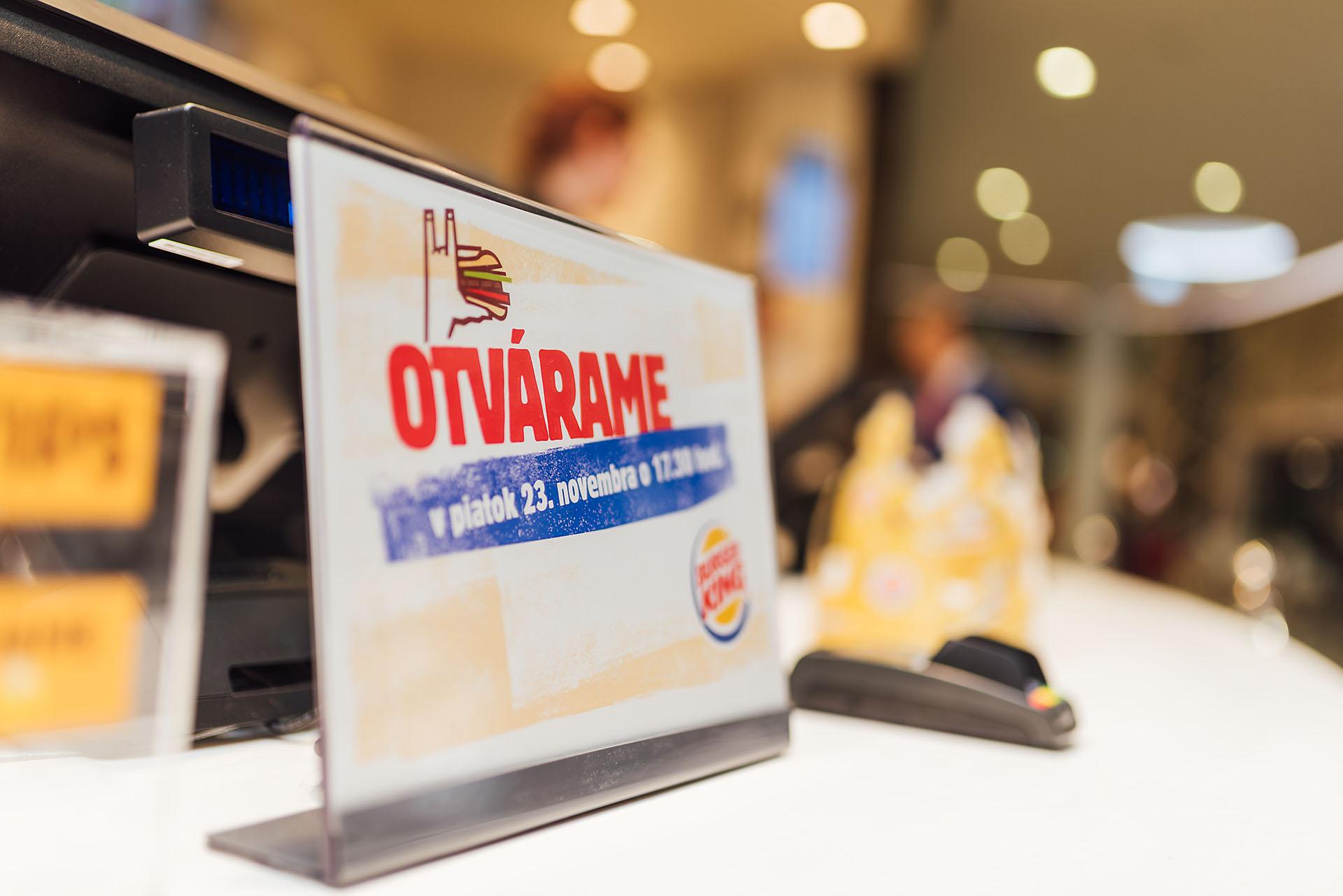 Otvorenie Burger King v Bory Mall, Bratislava - gastro, burger-king - eventovy fotograf