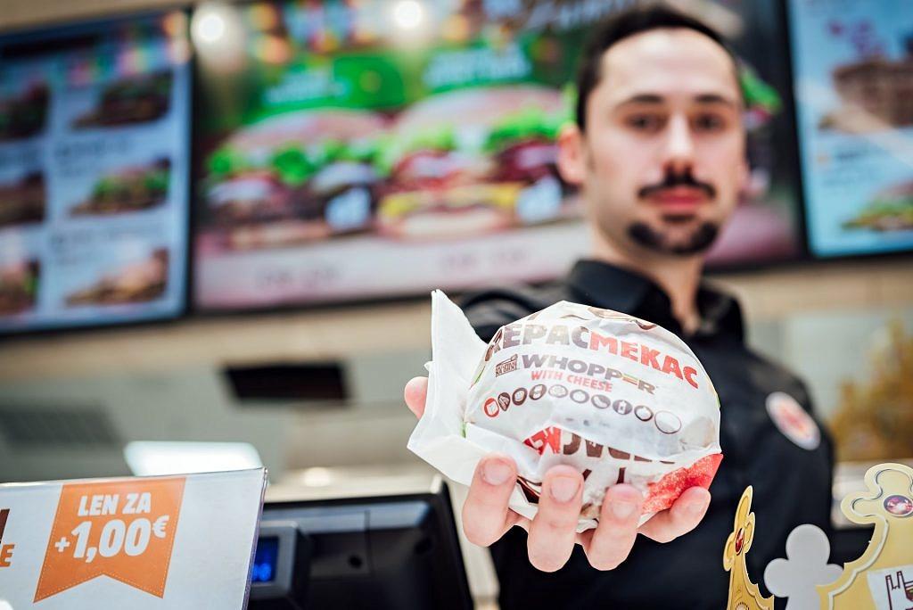 Otvorenie Burger King v OC Avion, Bratislava - otvorenie, burger-king - eventovy fotograf