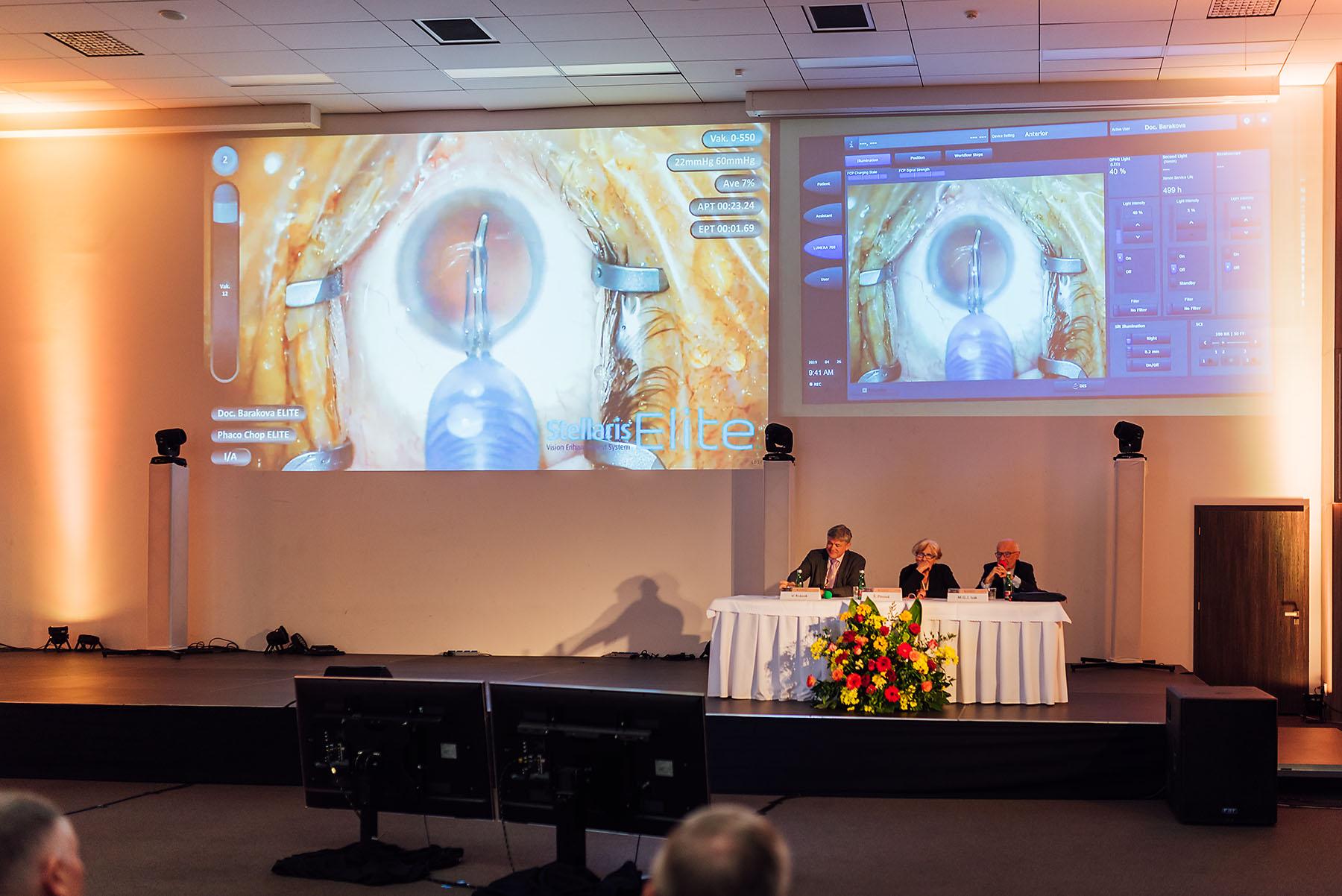 X.Bilaterálne Česko-Slovenské Oftalmologické Sympózium 2019 - x-bionic, sympózium, medicína, lekárska komora, kongres, konferencia - eventovy fotograf