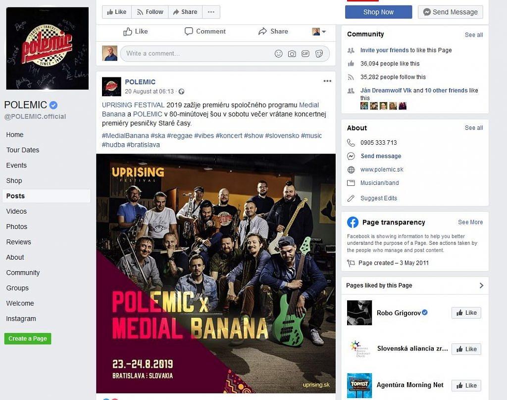 Fotenie hudobnej kapely Polemic a Medial Banana - kapela, hudba - eventovy fotograf