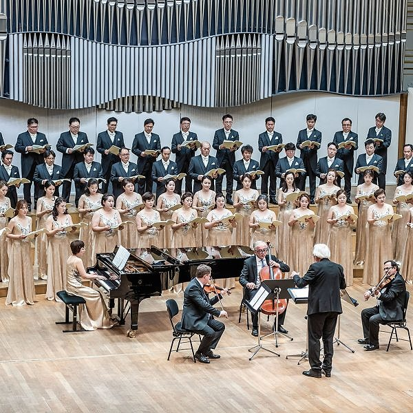 Koncert Camerata Vocale Daejeon - reduta, koncert, filharmonia, bratislava - eventovy fotograf