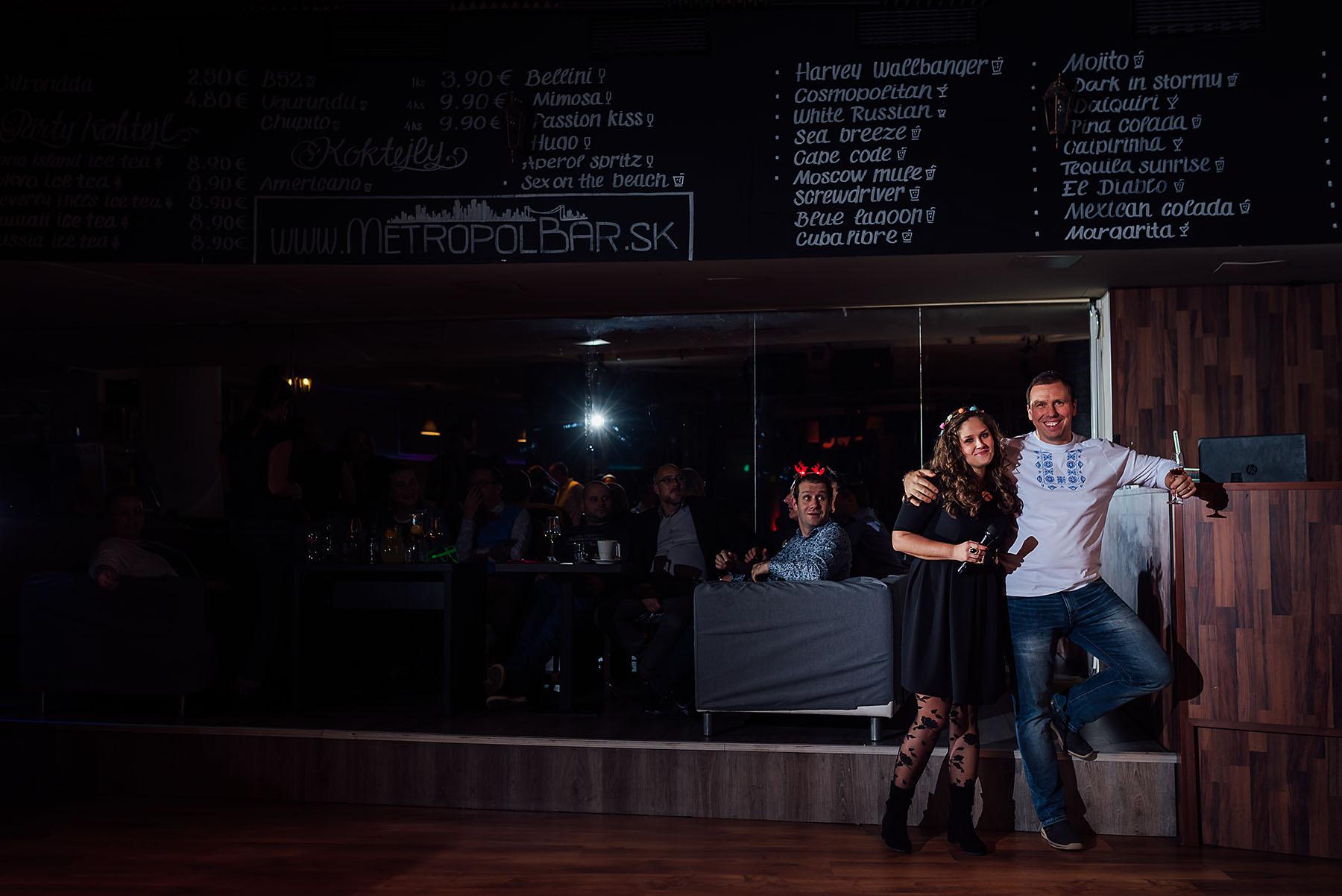 Vianočný večierok v Metropol bare, Bratislava - vianoce, bratislava, bar - eventovy fotograf