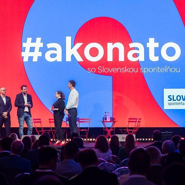 Konferencia #akonato so Slovenskou sporiteľňou - stara tržnica, bratislava - eventovy fotograf